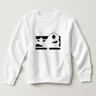 El niño lindo de la ballena Toddle la camiseta HQH