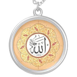 El nombre de Alá de Hafiz Osman Collar Plateado