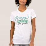 El nombre de la abuelita, y estropeo del GA Camiseta
