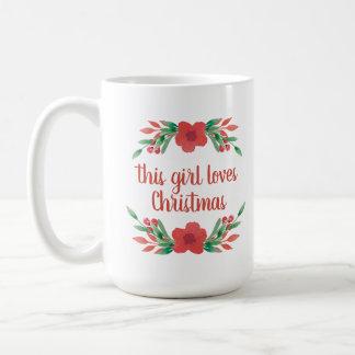 El nombre personalizado este chica ama la taza del