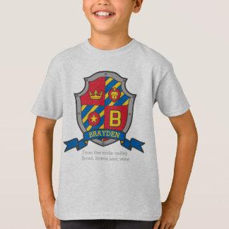 El nombre y el significado de los muchachos B de Camiseta