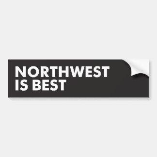 El noroeste es el mejor pegatina para coche