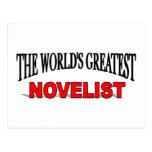 El novelista más grande del mundo postal