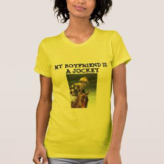 El NOVIO del T-MY de las mujeres ES JINETE Camisetas