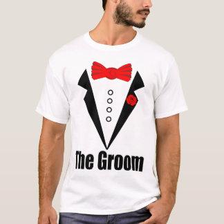 EL NOVIO, novio divertido, despedida de soltero, Camiseta