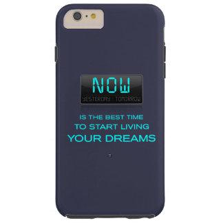 El Now es el Time to Live su caso ideal del iPhone Funda Resistente iPhone 6 Plus