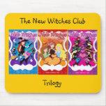 El nuevo club de las brujas alfombrillas de ratones