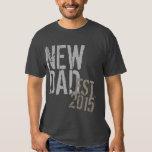 El nuevo día de padre del Grunge del papá del año Camisetas