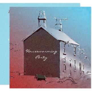 El nuevo estreno de una casa casero invita invitación 13,3 cm x 13,3cm