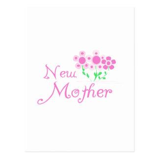 El nuevo rosa de la madre florece las camisetas y postal