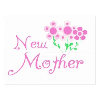 El nuevo rosa de la madre florece las camisetas y postales