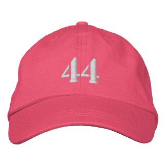 El número 44 personalizó el gorra ajustable gorra de beisbol