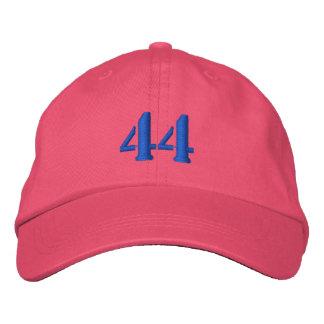 El número 44 personalizó el gorra ajustable gorra de beisbol bordada