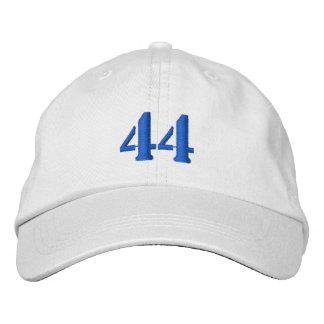 El número 44 personalizó el gorra ajustable gorras de beisbol bordadas