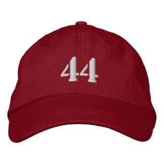 El número 44 personalizó el gorra ajustable gorros bordados