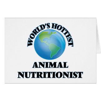 El nutricionista animal más caliente del mundo felicitaciones