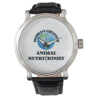 El nutricionista animal más grande del mundo relojes