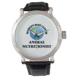 El nutricionista animal más listo del mundo reloj