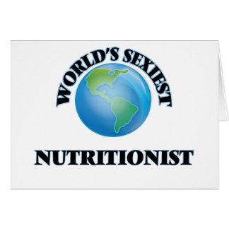 El nutricionista más atractivo del mundo tarjetas