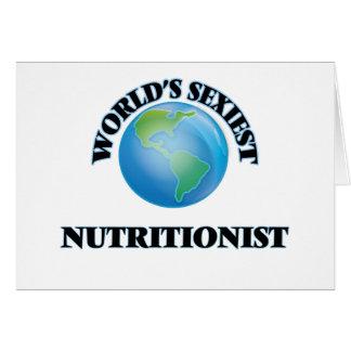 El nutricionista más atractivo del mundo tarjeta