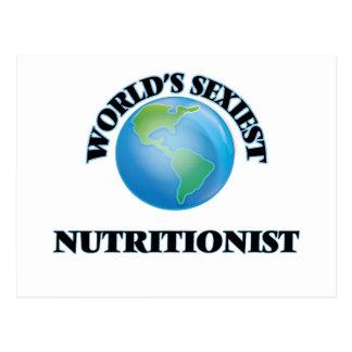 El nutricionista más atractivo del mundo tarjetas postales