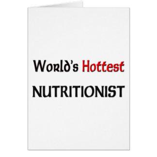 El nutricionista más caliente de los mundos tarjetón