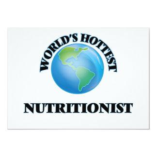 El nutricionista más caliente del mundo invitación 12,7 x 17,8 cm