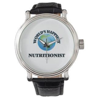 El nutricionista más feliz del mundo relojes de mano