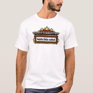 El nutricionista más grande del mundo camiseta