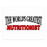 El nutricionista más grande del mundo postales