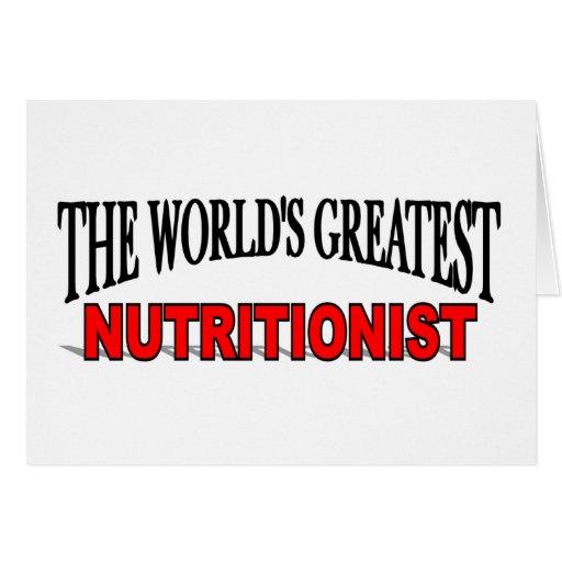El nutricionista más grande del mundo tarjeton