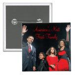 El Obamas: Botón siguiente de la familia de Améric Pins