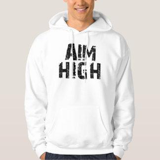 El objetivo alto/casa el negro del bloque jersey con capucha