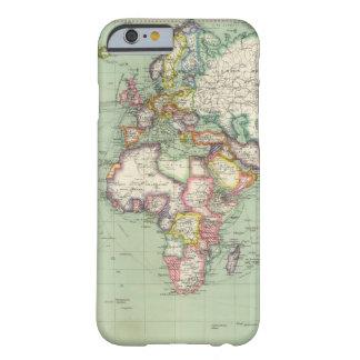El Océano Índico, Océano Atlántico Funda Barely There iPhone 6