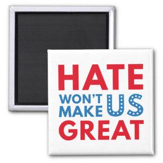 El odio no hará los E.E.U.U. grandes Imán