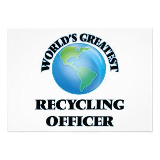 El oficial de reciclaje más grande del mundo invitacion personal
