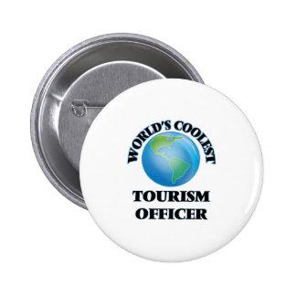 El oficial más fresco del turismo del mundo pin
