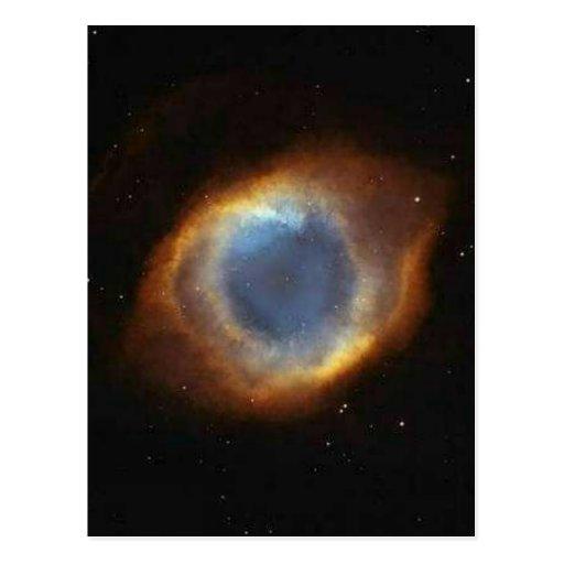El ojo de dios postal