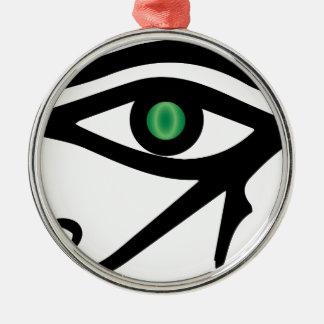 El ojo del Ra Adorno De Cerámica