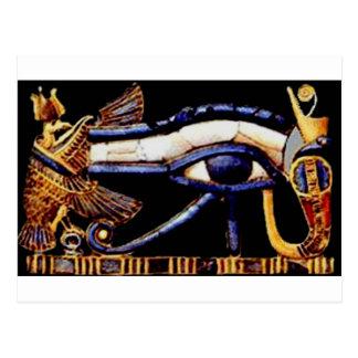 El ojo egipcio de Horus Postal