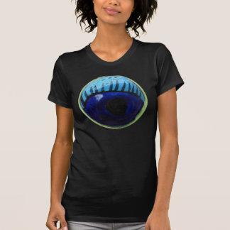 ¡El ojo le ve!  Camiseta de las señoras
