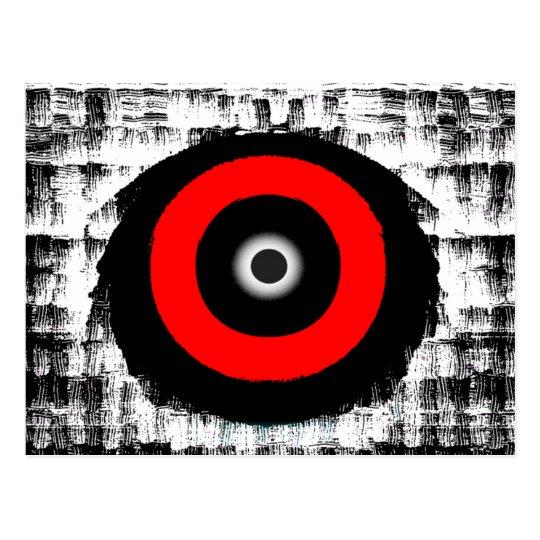 El ojo lo tiene postal