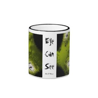 El ojo puede ver taza