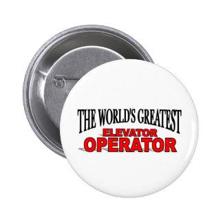 El operador del elevador más grande del mundo chapa redonda de 5 cm