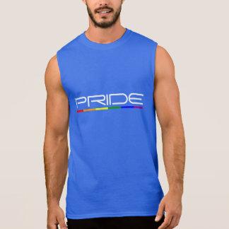 El orgullo colorea orgullo gay camiseta sin mangas