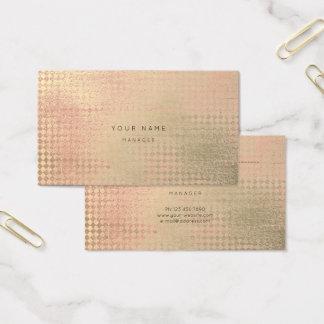 El oro del melocotón se ruboriza tarjeta de la