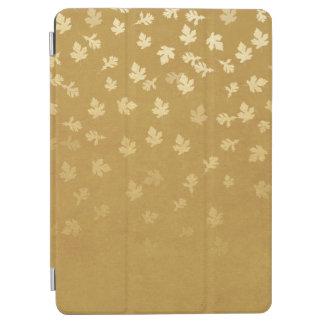 El oro del otoño sale del modelo cover de iPad air