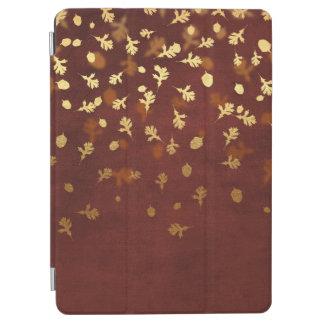 El oro del otoño sale del modelo cubierta de iPad air