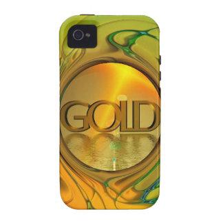 El oro es mi mundo iPhone 4 fundas