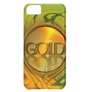 El oro es mi mundo funda para iPhone 5C